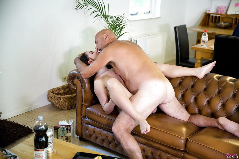 Old man young woman fuck bondage — 8