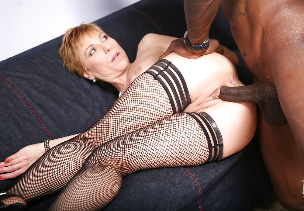 Felony Takes A Dick In The Ass Her Black Fishnet Stocking Ruleporn 1