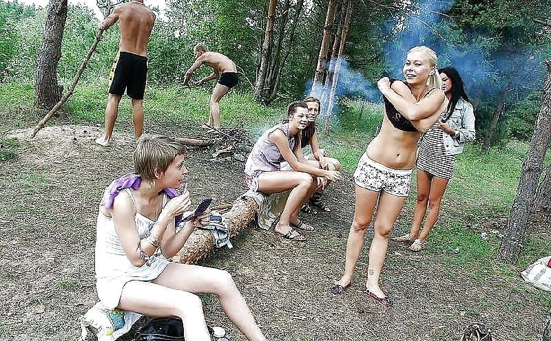 видео отдыхающей русской молодежи запустила