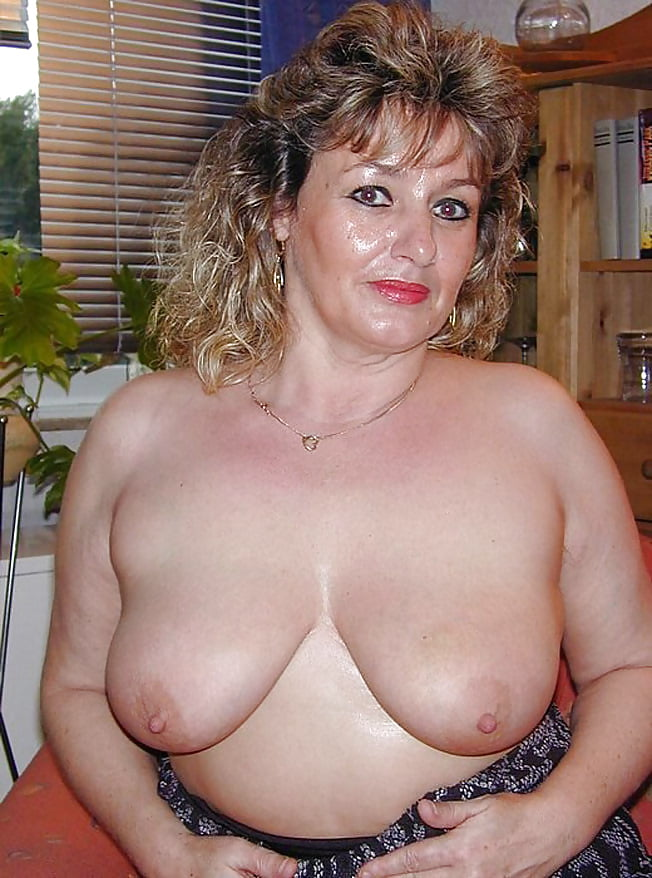 Sexy naked middle aged women