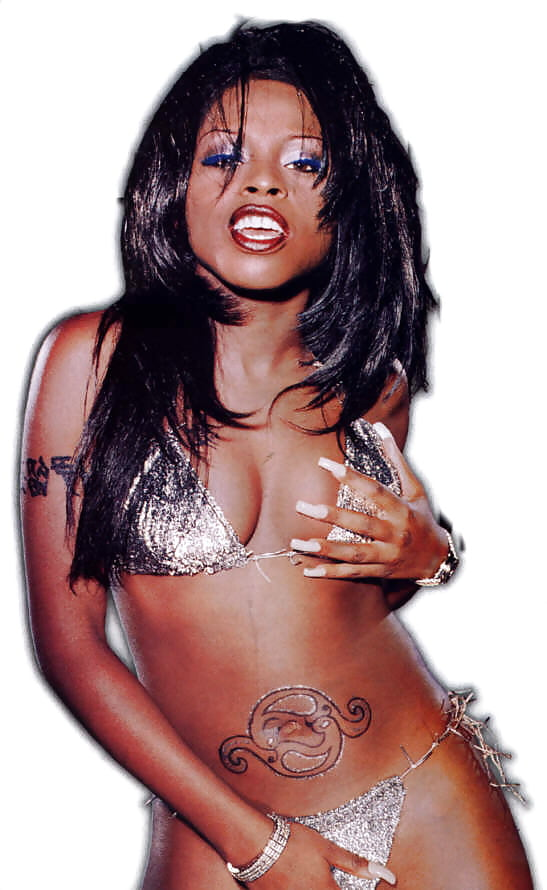 rapper-foxy-brown-naked