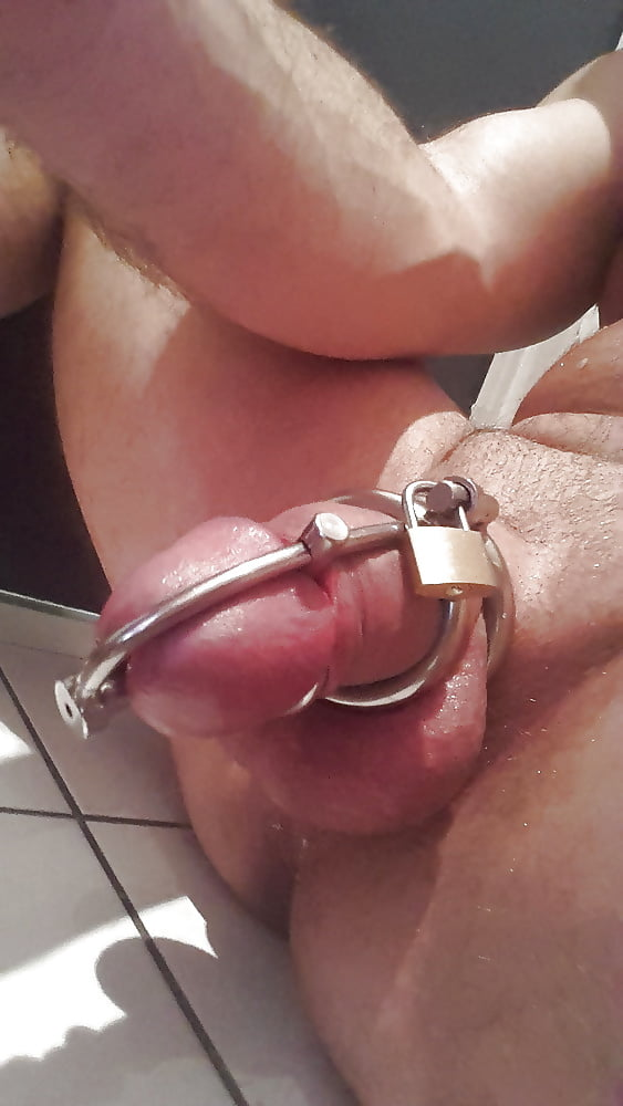 Your cock stays locked up until you behave - 1 part 7