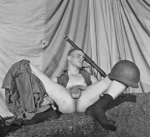 Hot Vintage Military Porn