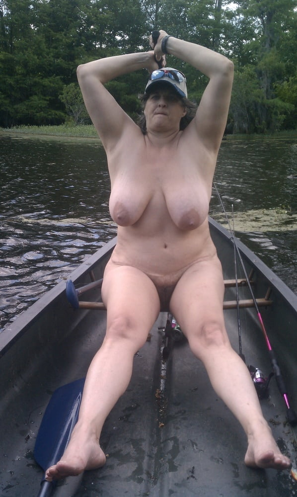 Wife fishing nude photo, thresome sex porn