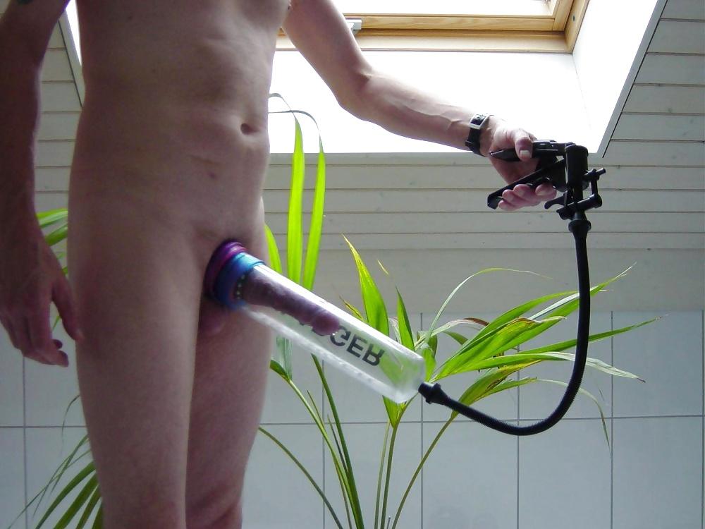 Optimum automatic smart penis pump