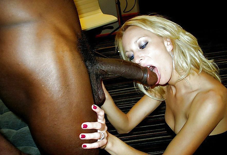 White Girls Sucking Fucking Big Black Cocks