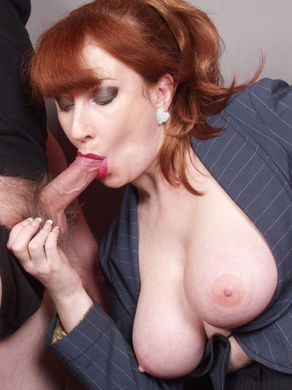 Mommy mature redhead — pic 10