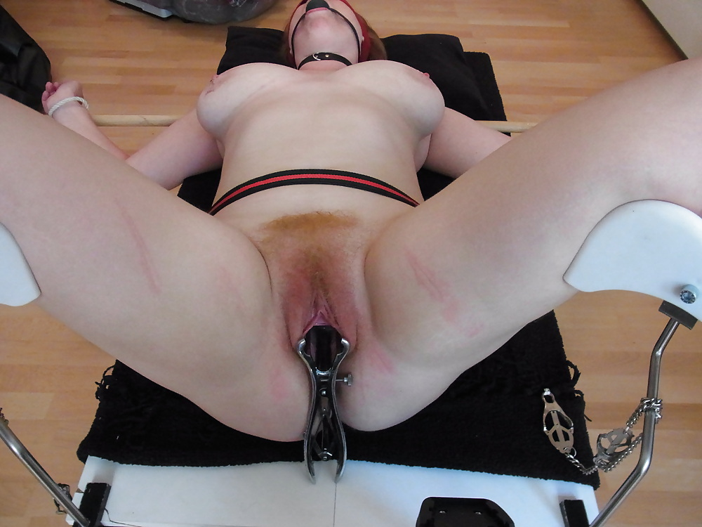Fat chick undergoes extreme torture session and bruising in a dungeon