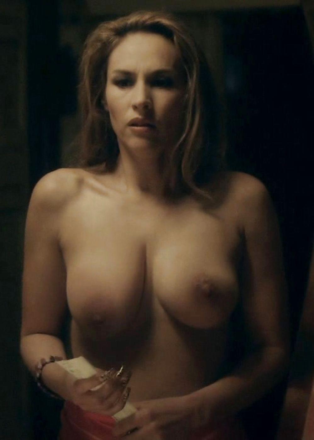 Vanessa Demouy Nude In Plage Topless, Tits, Softcore, In Bikini
