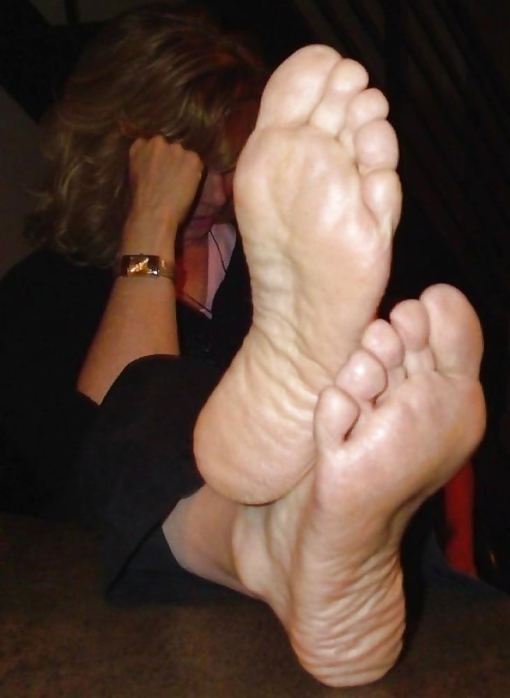 Mature feet foot — photo 2