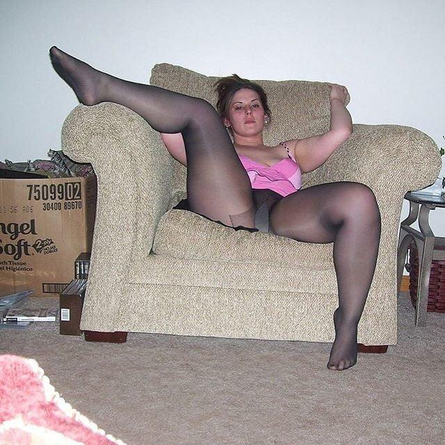 Chubby pantyhose models