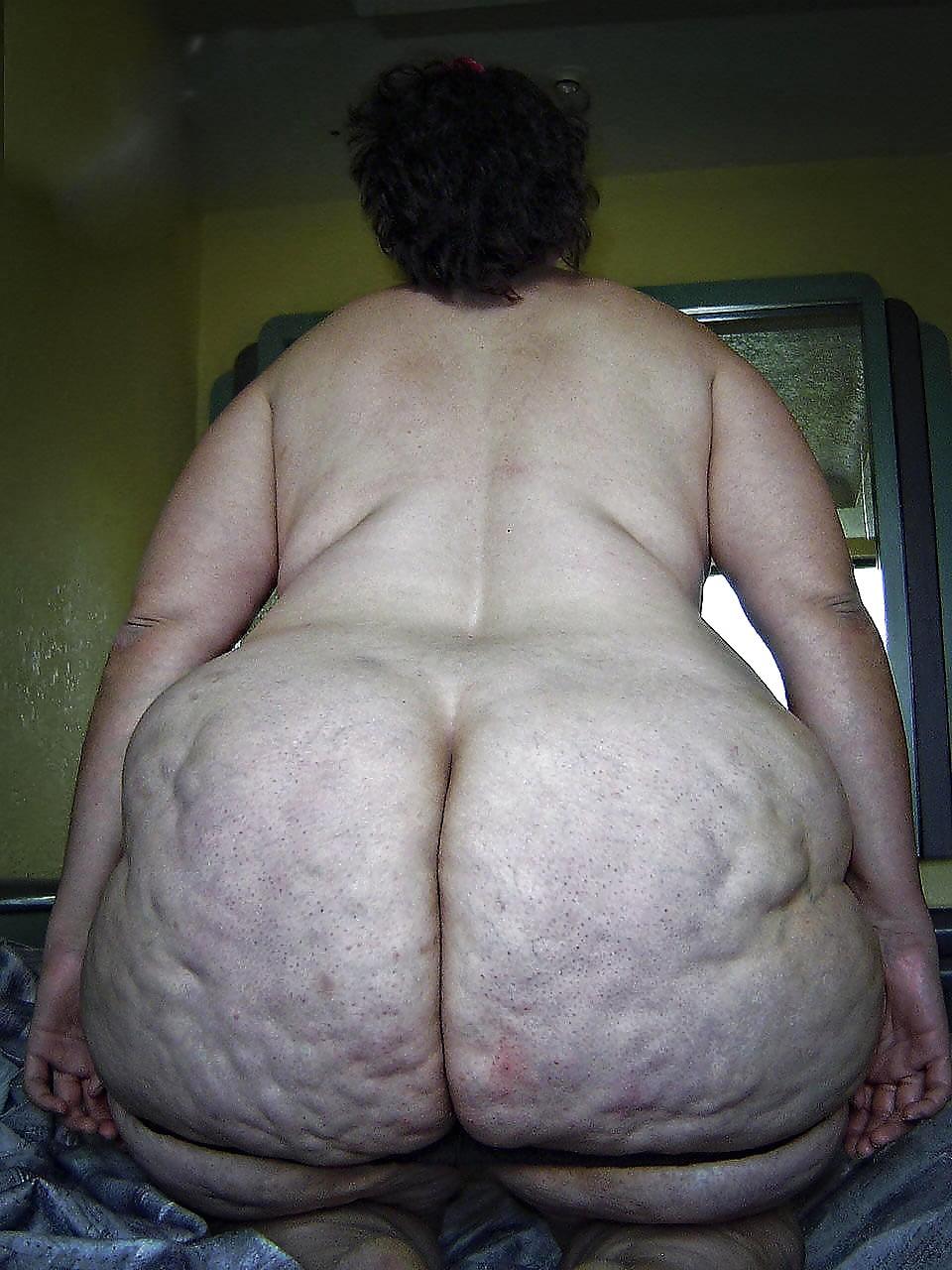 Extra fat ass