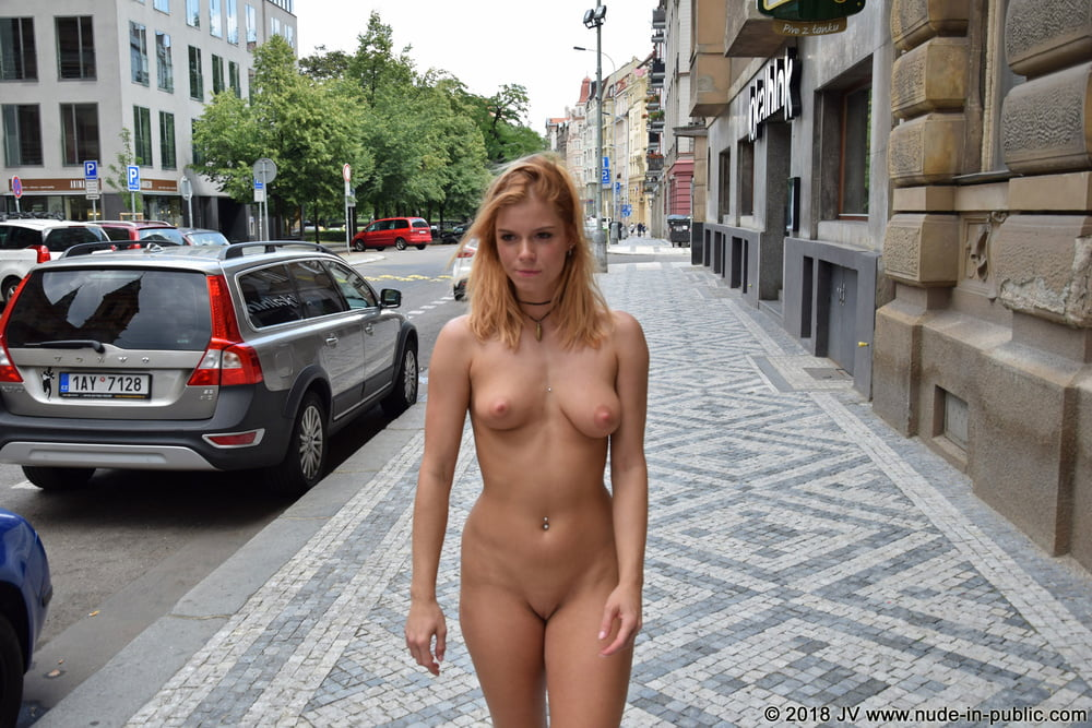 Hot booobs judy is nude in public