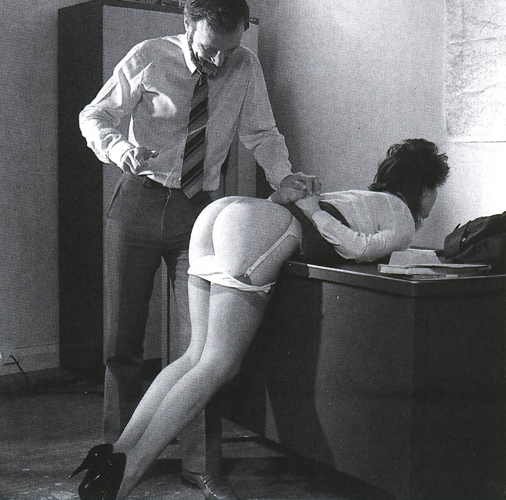 spanking pictures Vintage