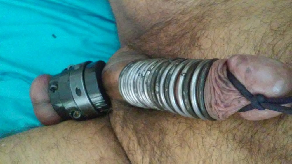 Bulldozer cock and ball torture