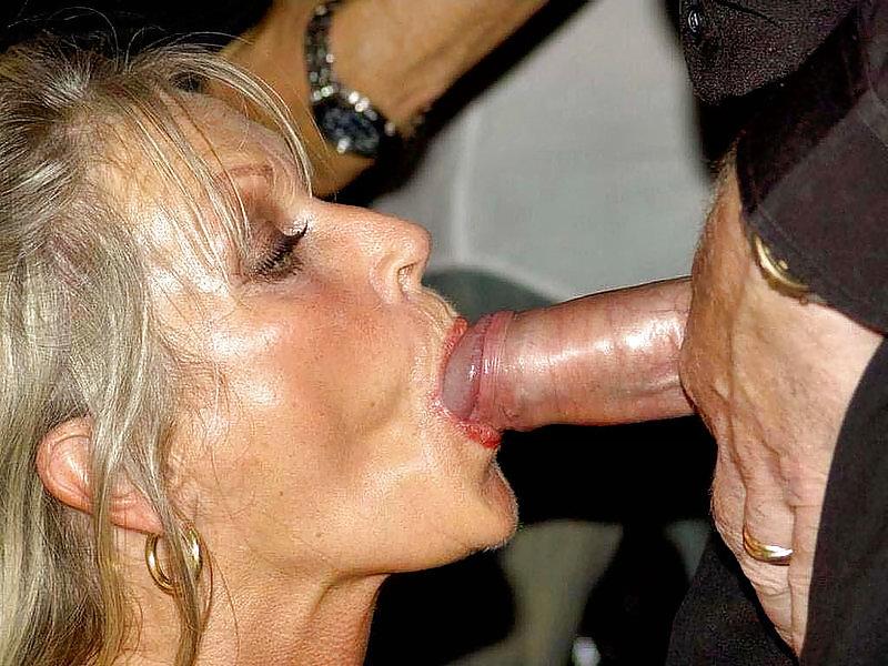 Furry free old woman blow job