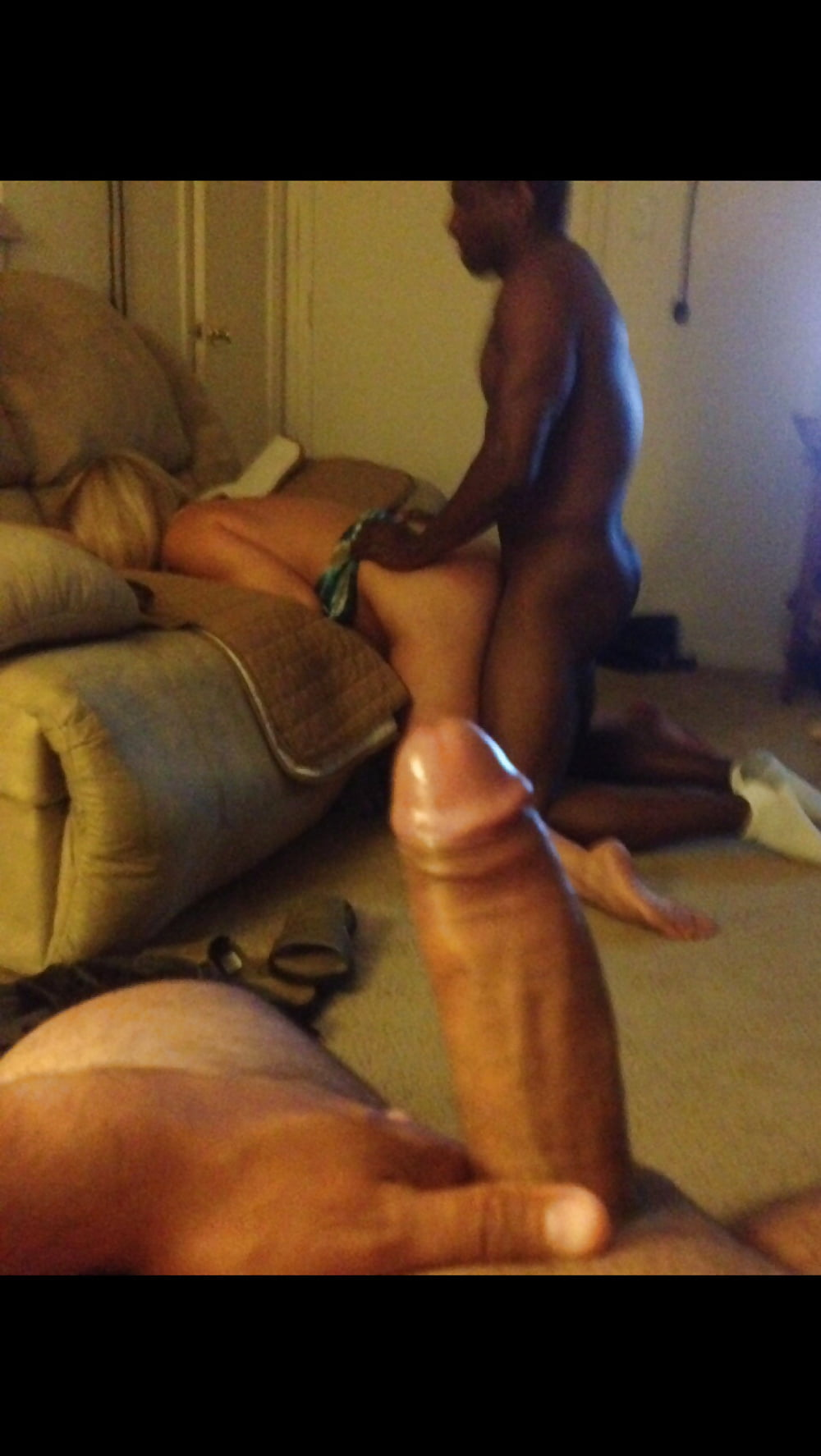 Double penetration spitroast mmf first time