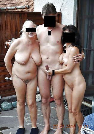 amateur couples naked holding cock