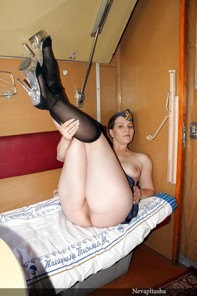 любительские эротические фотографии проводниц только российских ржд шоколадка круглой