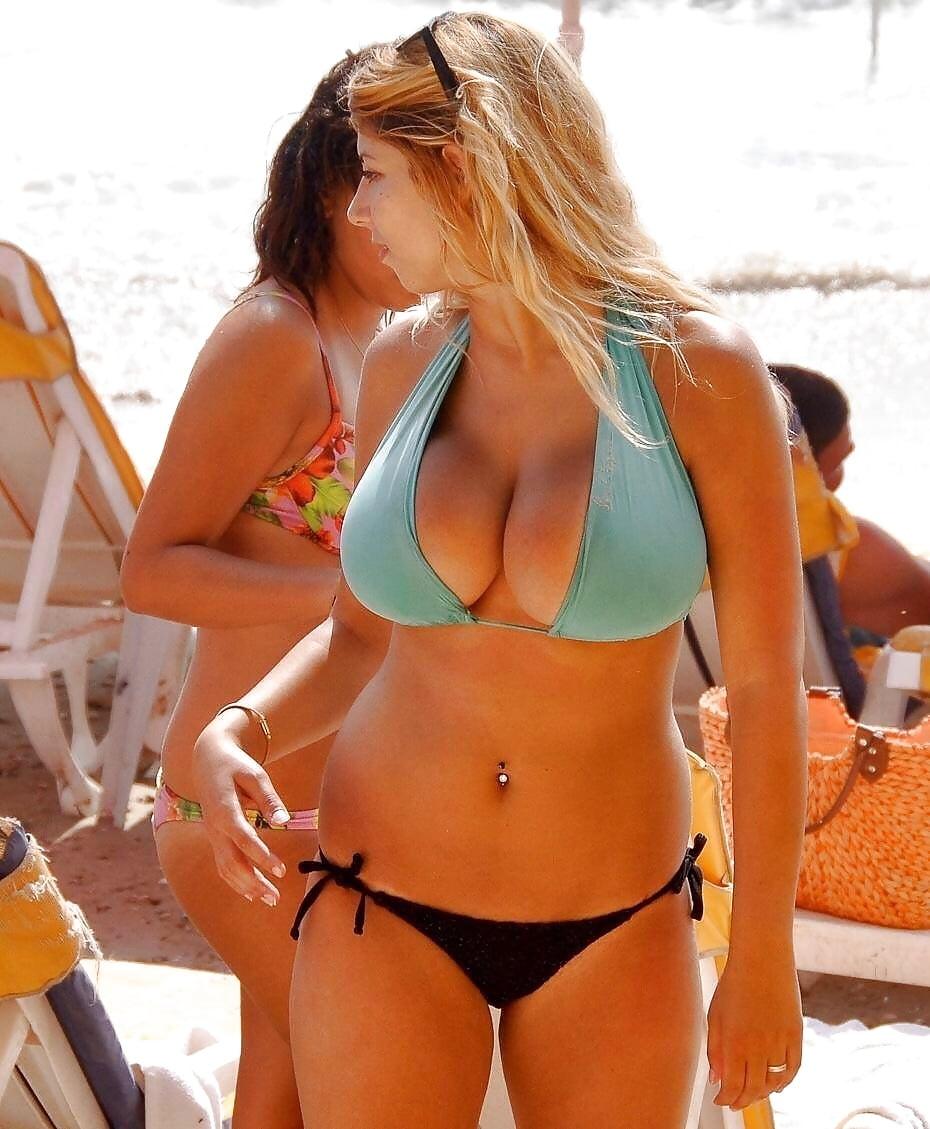 Big tit latina milf bikini