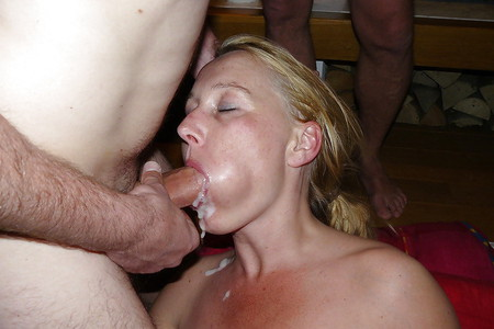 DUTCH SLUT - GETTING FACIALIZED
