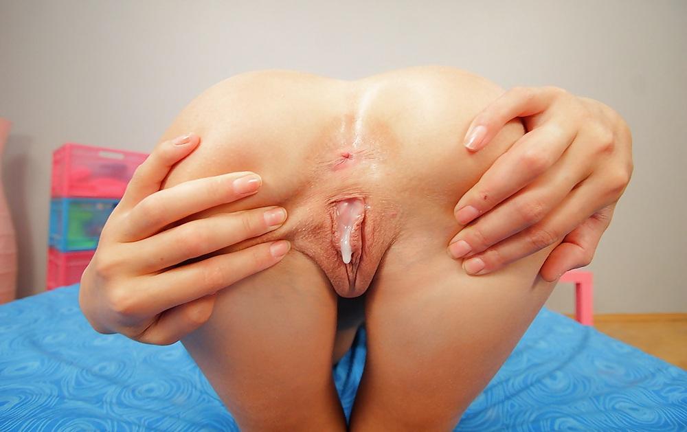частное эротическое фото худых моделей сперма внутри - 2