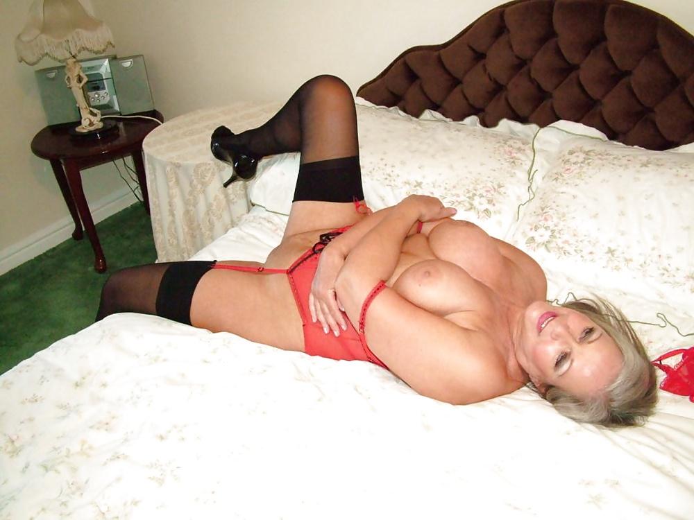 Sexy Granny Stockings Mofos 1