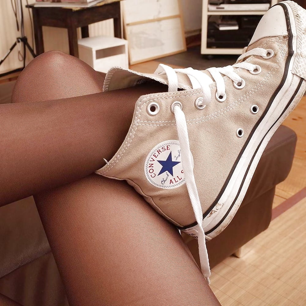Converse sneakers porn pics and