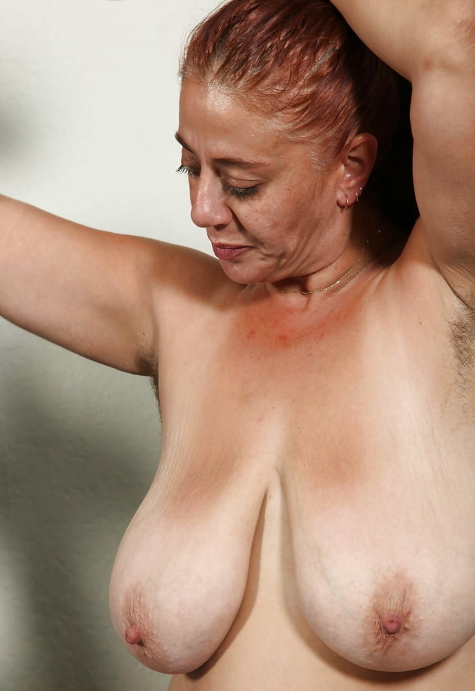Blessed with saggy soft tits porn photo