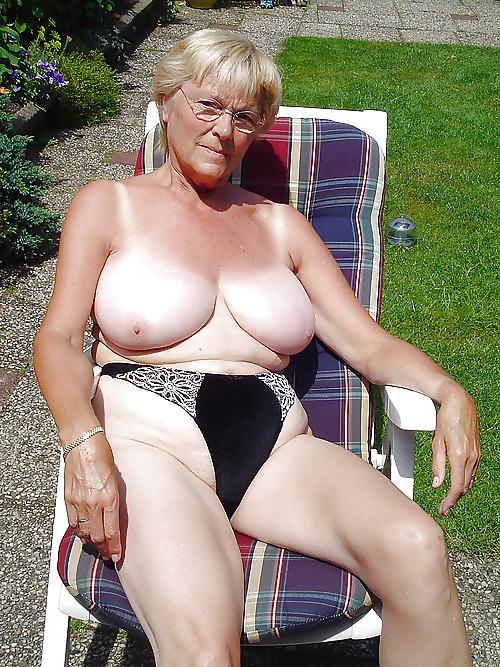 Granny Has Big Tits