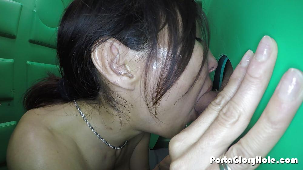 Gloryhole milf porn