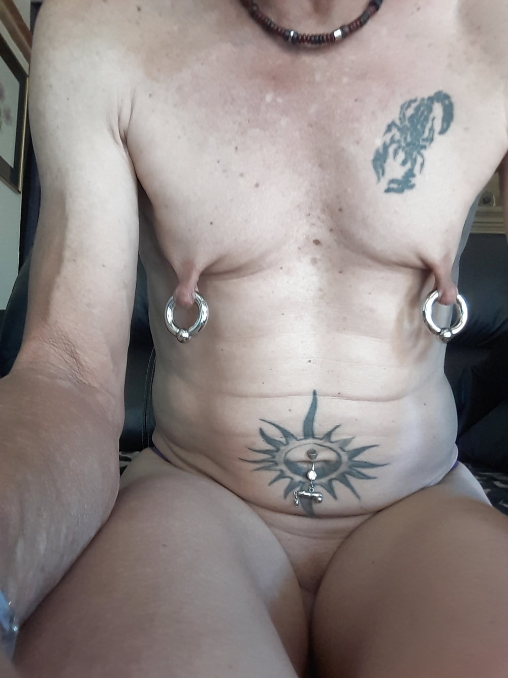 Pierced nipple pics and gay porn images