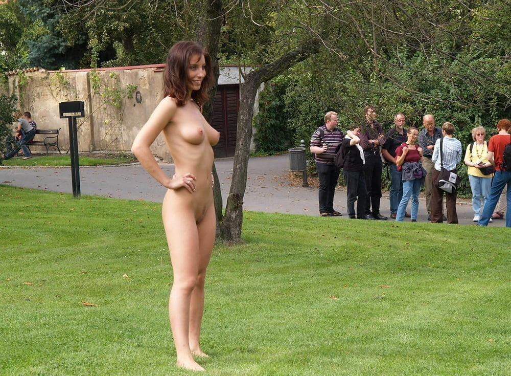 See And Save As New Happy Girl Walking Naked Outside Porn Pict
