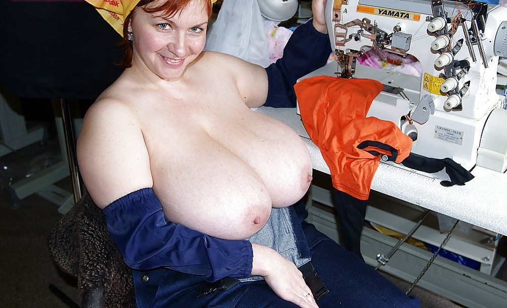 Big natural tits ginger