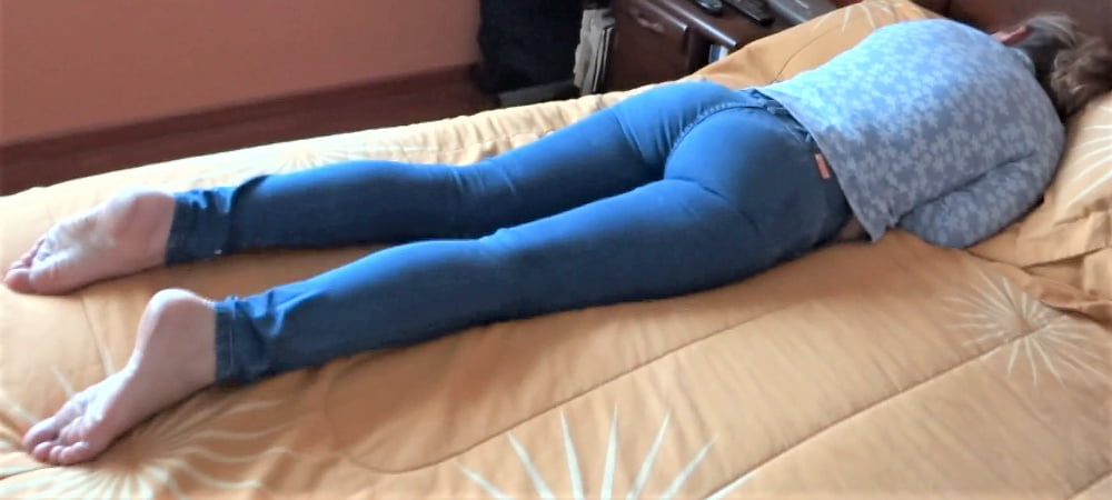My hairy wife, watch her videos too - 44 Pics