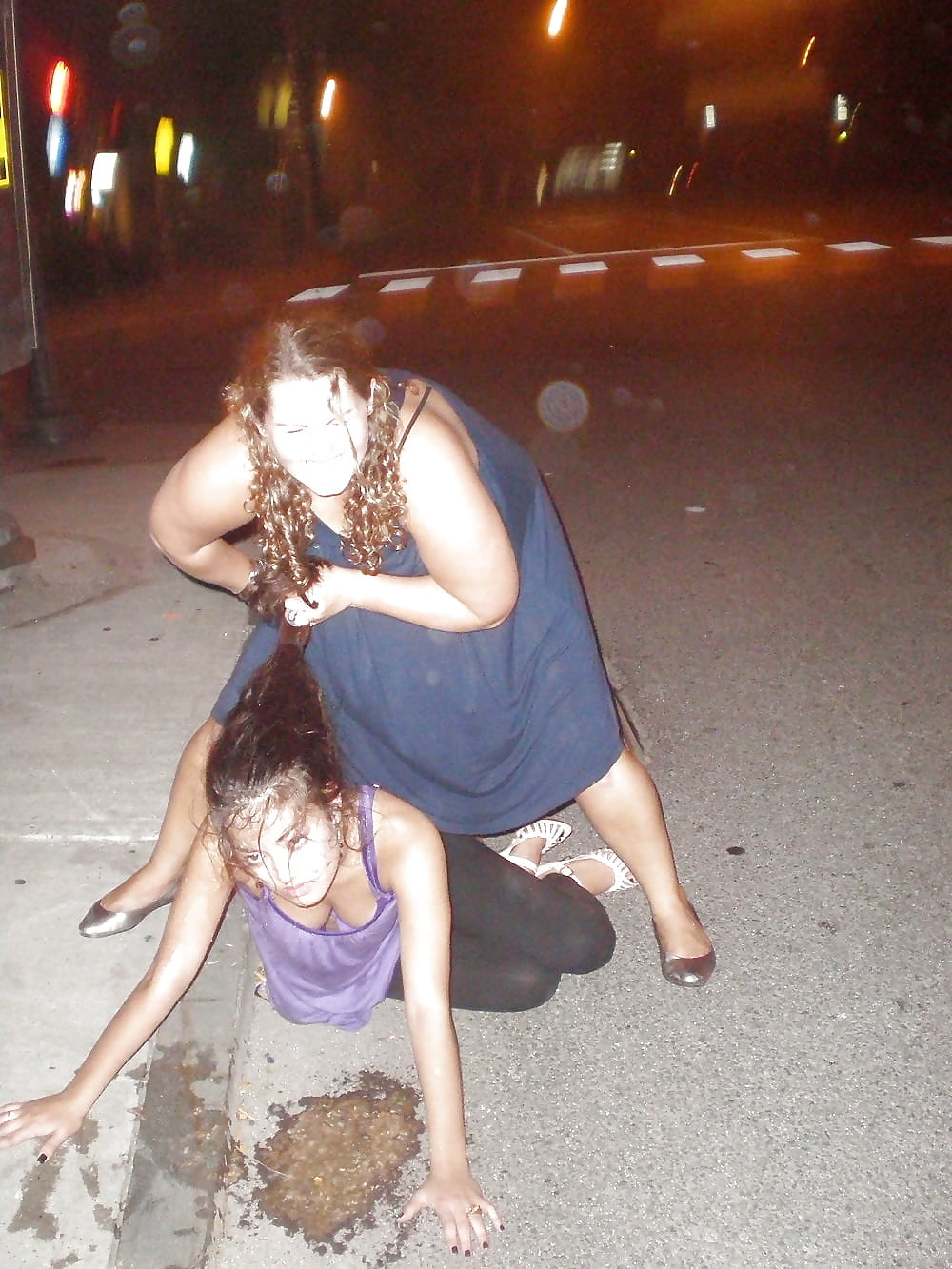 Flashing drunk tits video