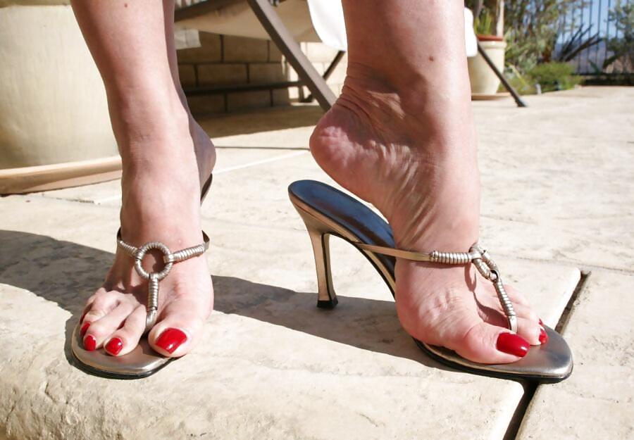 Femdom Thong Sandals