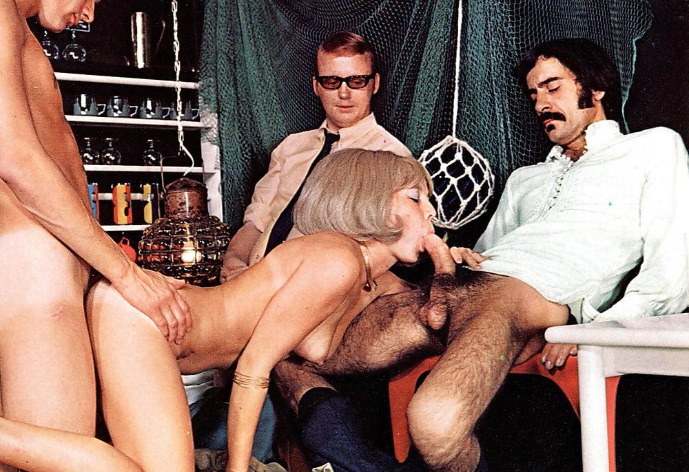 Ретро порно фильм немецким актером томасом фирица, легкая доминация жены над мужем