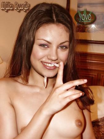 Mila Kunis Cumshot