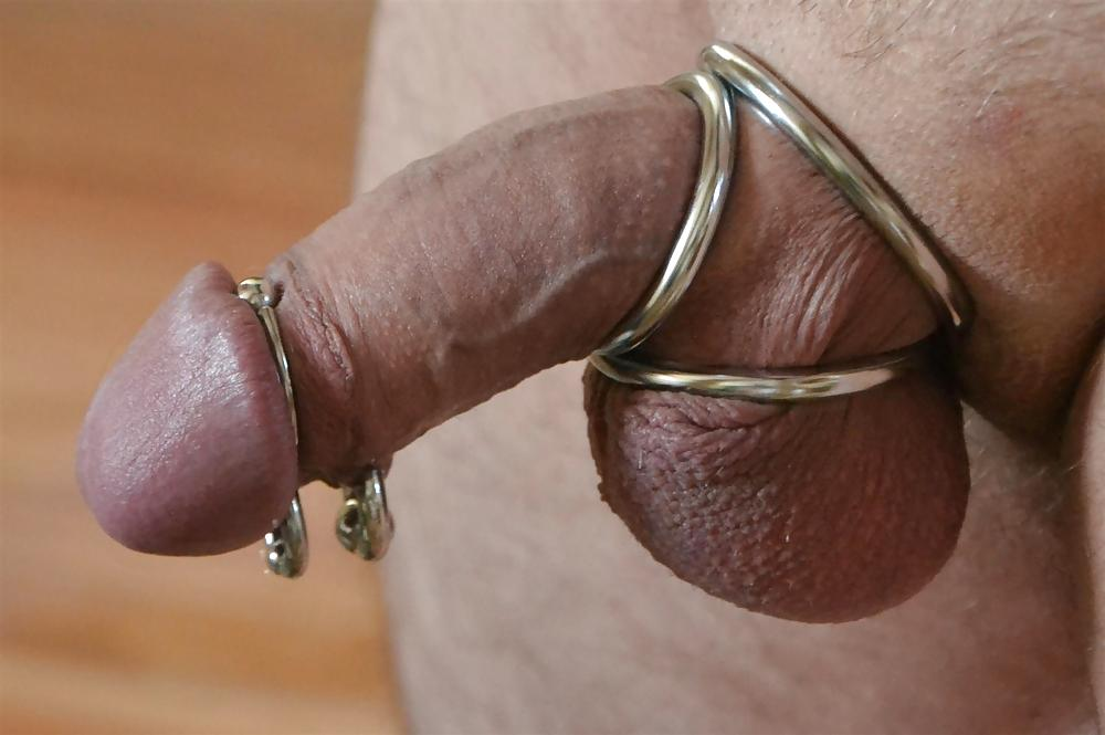Metal cock ring for men donut cockring erection sex enhance penis ring adult toy