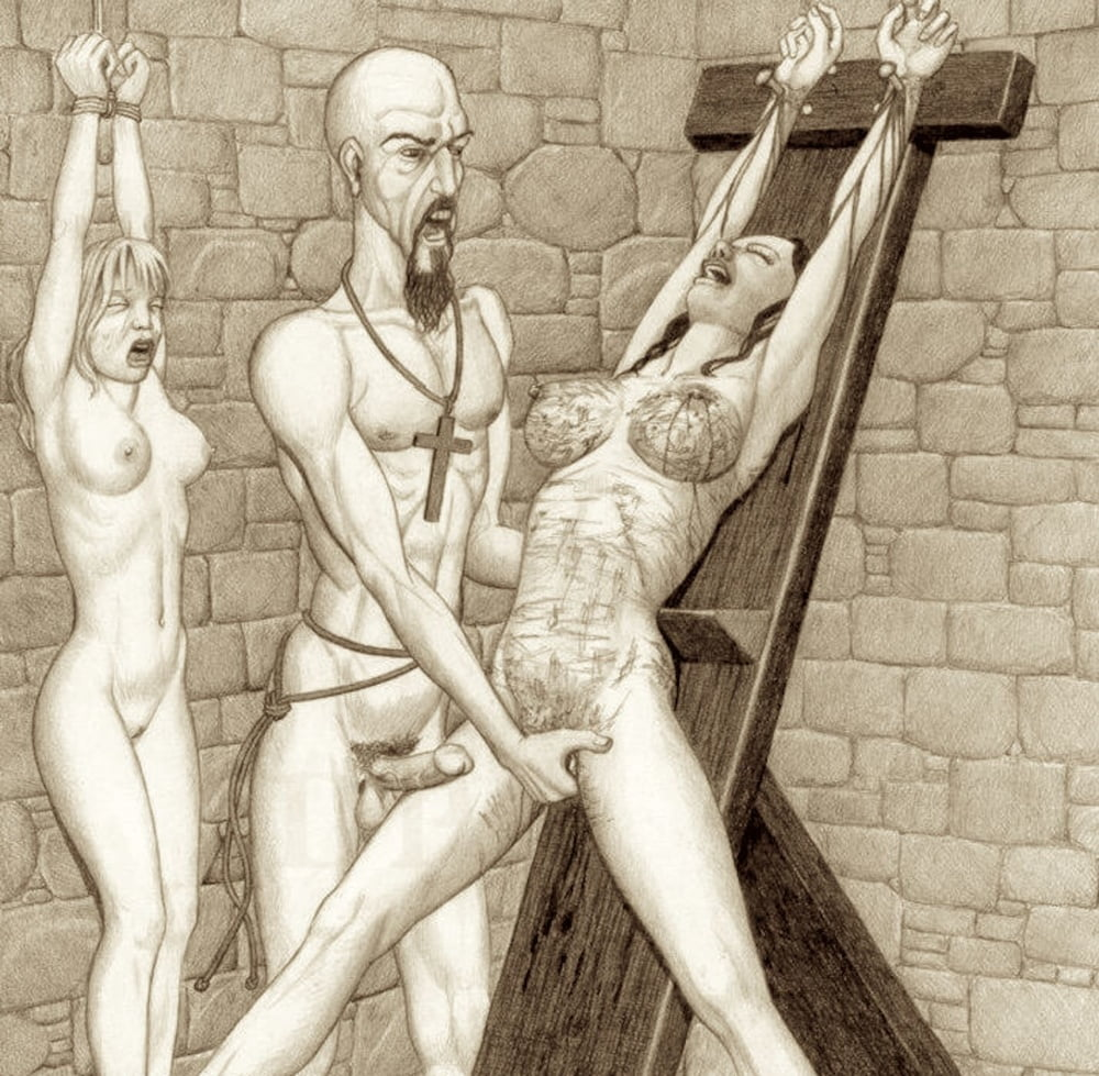 Crucifixion male nu