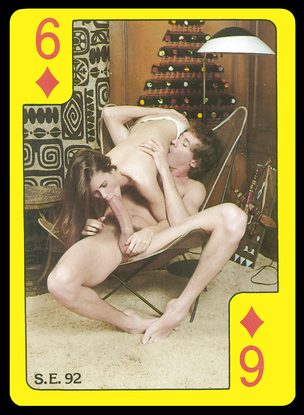 See and save as retro porno playing cards porn pict