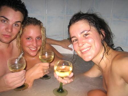 German Girls having fun