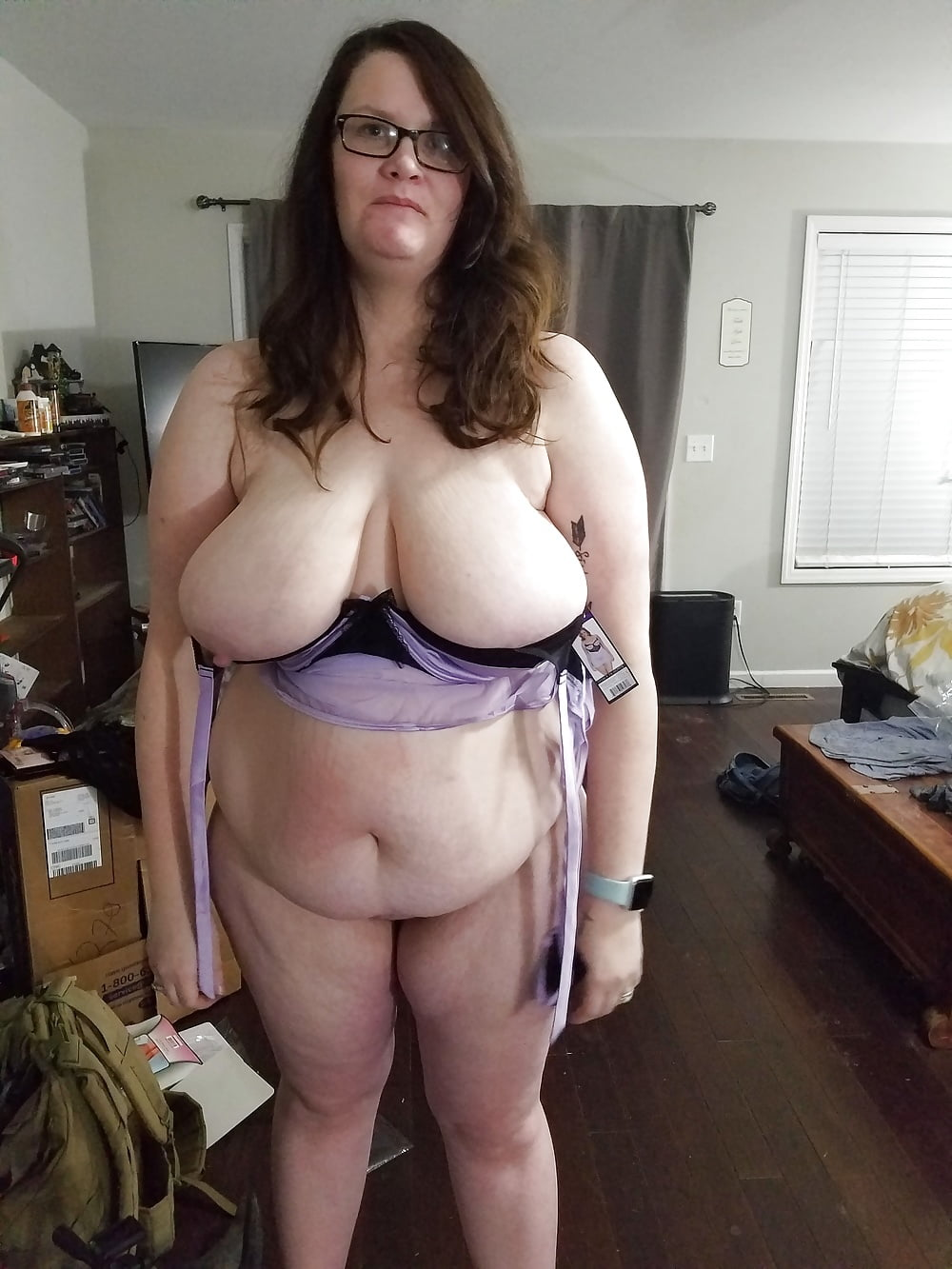 Chubby wife panties