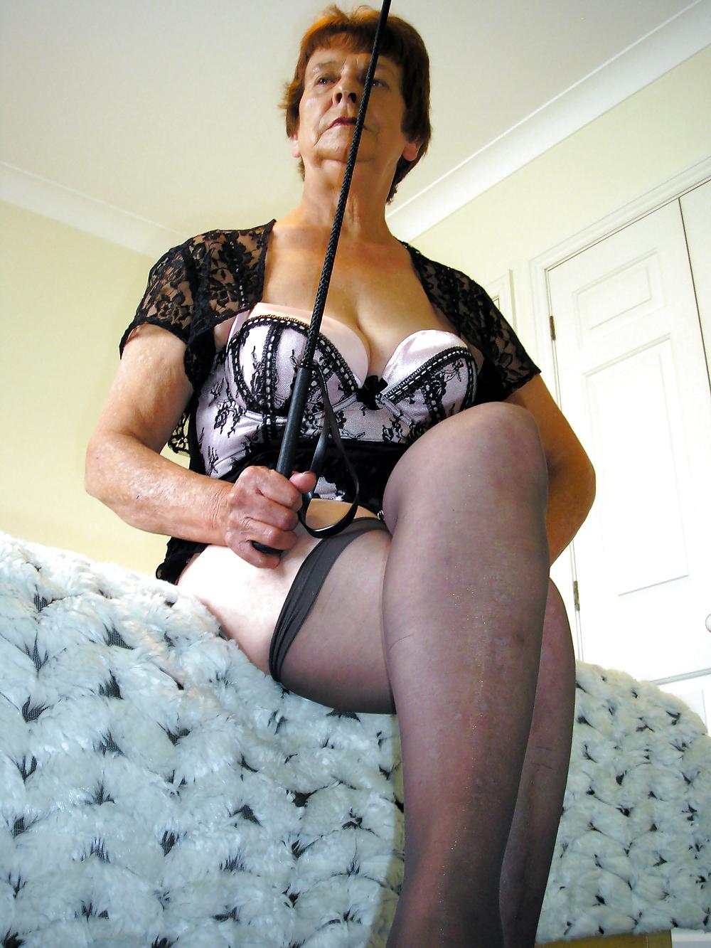 Granny femdom mistress tgp