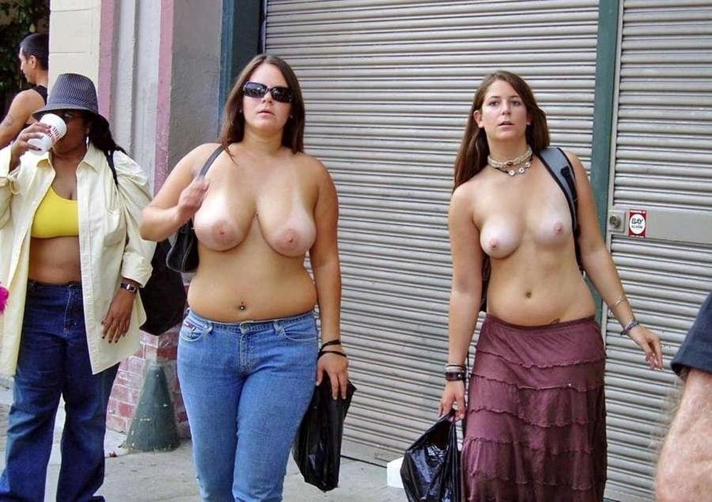 Tits public, porn galery