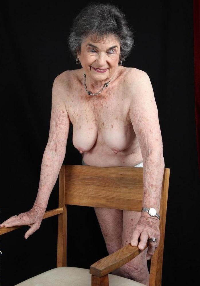 Granny fingering herself