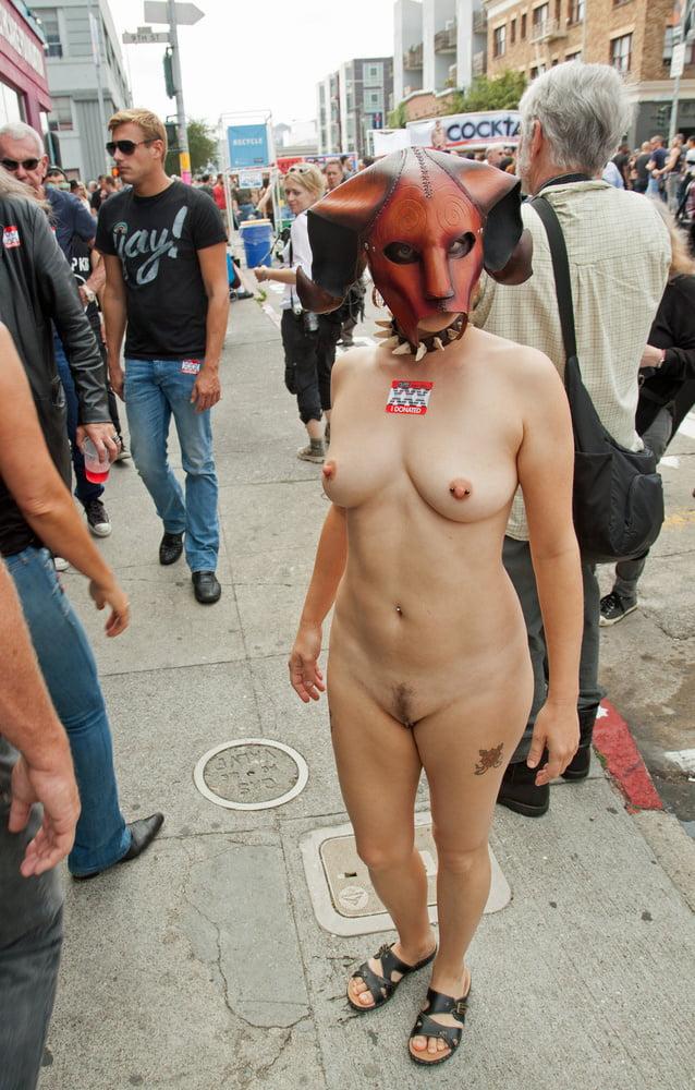 Folsom street nude, nude fingaring xxx image