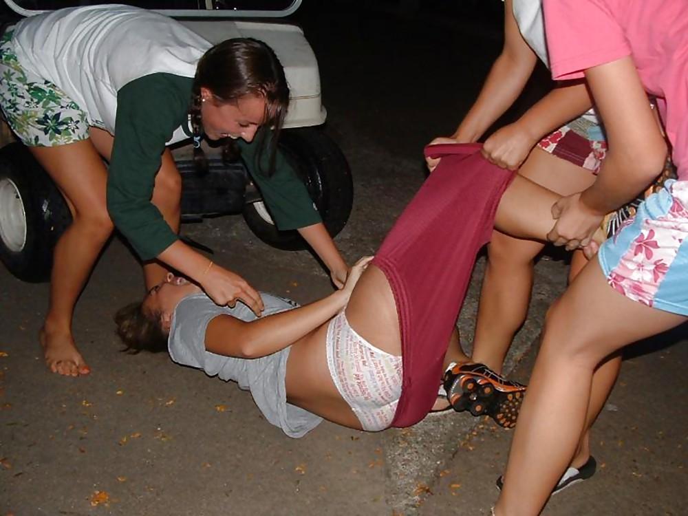 Naked drunk girl fail