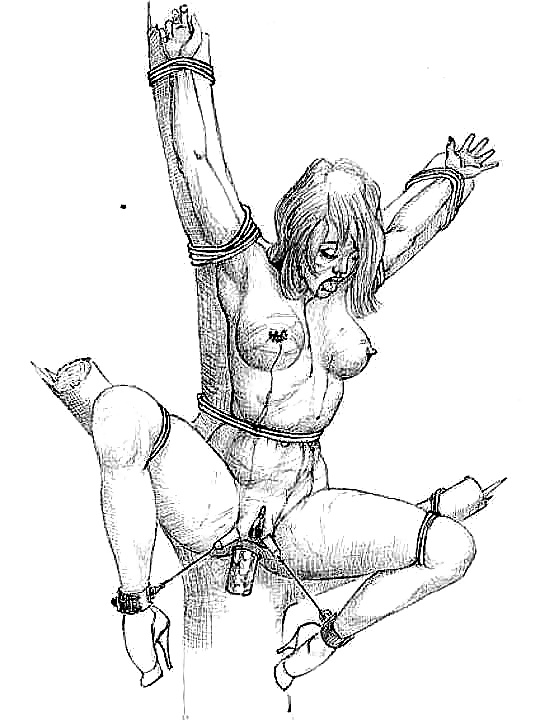 Female Torture Drawings